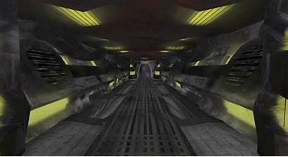 Sci Fi Roman Reyes Hallway