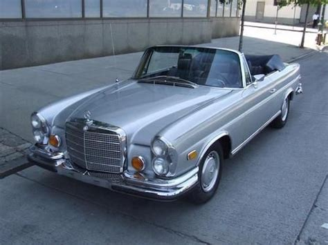 Purchase Used 1970 Mercedesbenz 280se Convertible In
