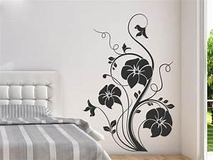 Wandtattoo Für Schlafzimmer : wandtattoo blumenzauber ornament wandtattoo de ~ Buech-reservation.com Haus und Dekorationen