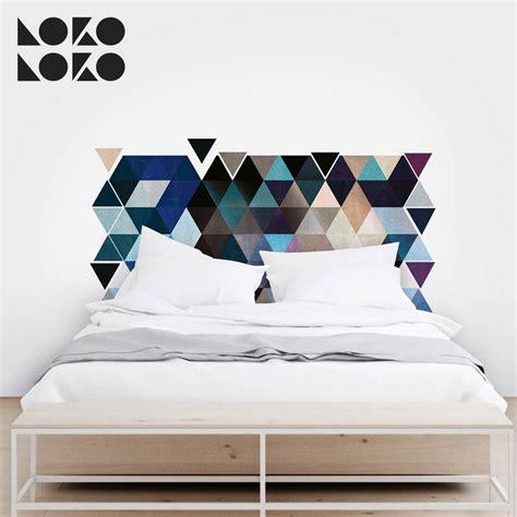 ideas originales  cabeceros de cama  vinilos