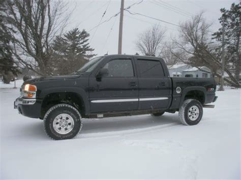 how can i learn about cars 2004 gmc sierra 1500 interior lighting sell used 2004 gmc 4 door 1 2 ton pick up 4x4 loaded in park falls wisconsin united states