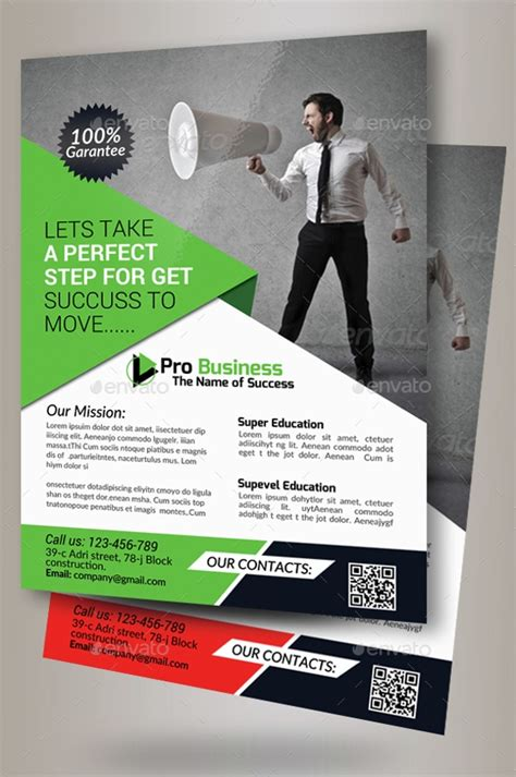 advertising flyer templates  ms word psd ai
