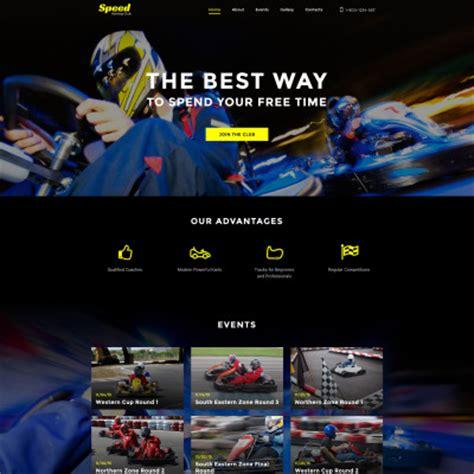 dailysports template monster sport website templates