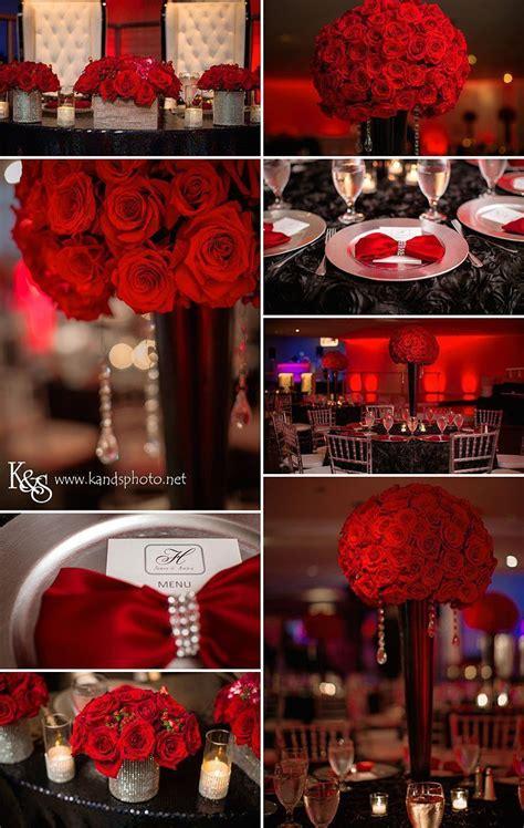 red wedding inspiration board  red roses em  venue