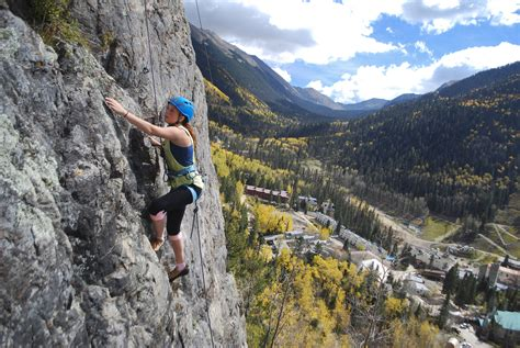 Mountain Skills Rock Climbing Adventures Open All Seasons