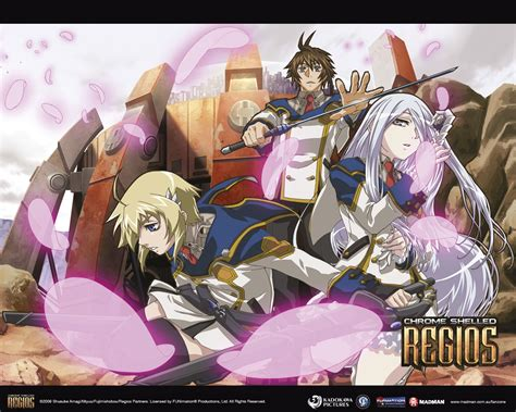Chrome Anime Wallpaper - anime wallpapers chrome shelled regios madman