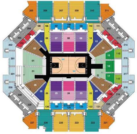 brooklyn nets seating chart netsseatingchartcom