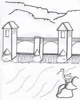 Dam Coloring Roller Palisade Melanie Kerrigan sketch template
