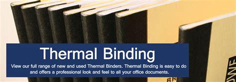 thermal binding machines thermal binders binding store uk