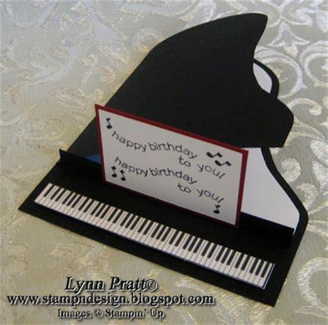 stamp  design piano cards