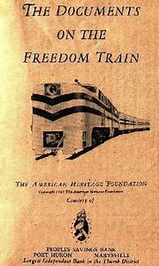 1947 thoughtcrime in america nazi immigration With 40 documents of the freedom train