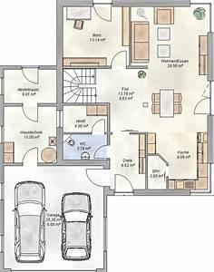 Grundriss Einfamilienhaus 200 Qm : stadtvilla mit pultdach und garage harmona dialuxe ~ Lizthompson.info Haus und Dekorationen