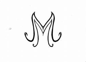 tattoo letter M by esmyjohn on DeviantArt