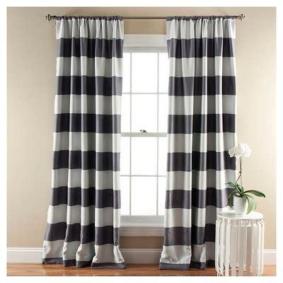 Black And White Drapes At Target - stripe curtain panels room darkening set of 2 target