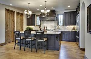 best kitchen paint colors ultimate design guide With best brand of paint for kitchen cabinets with stair wall art