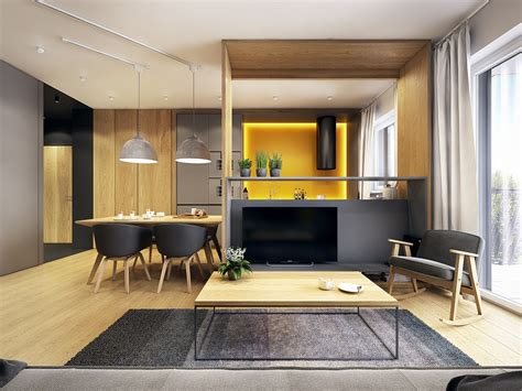 A Modern Scandinavian Inspired Apartment With Ingenius