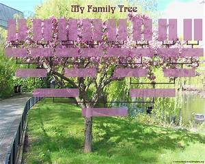 Printable Family Tree Chart Blank Family Trees Templates And Free Genealogy Graphics