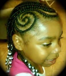 African Kids Braids Hairstyles
