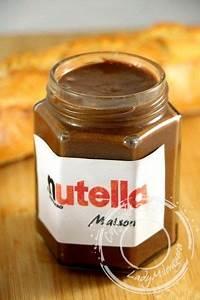 Nutella Maison Recette : nutella maison recette de christophe michalak ~ Nature-et-papiers.com Idées de Décoration