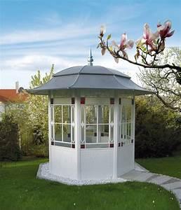 kunstvolle pavillons fur den garten With französischer balkon mit pavillon glas garten