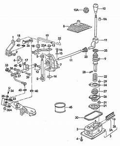 Volkswagen  Vw  Shift Mechanism For Manual Transmission Engine