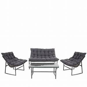 Rattan Sitzgruppe Garten : 2 1 1 poly rattan garten garnitur tunis sitzgruppe lounge ~ Lateststills.com Haus und Dekorationen