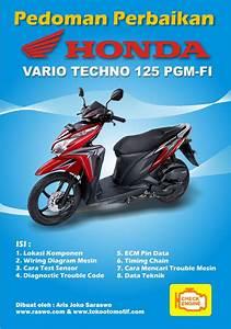 Pedoman Perbaikkan Sepeda Motor Honda Vario Berisi Pedoman