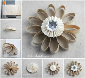 creative ideas diy book page flower ornament