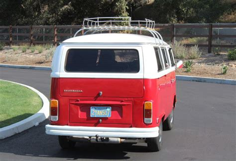 California Original, 1978 Vw (type 2) Hippy Bus
