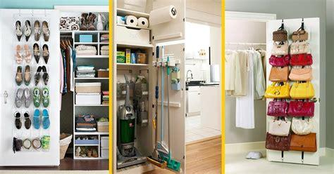 astuce pour ranger sa chambre 9 astuces géniales pour tout ranger derrière vos portes