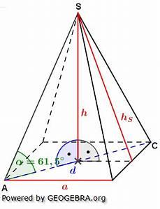 Mantelfläche Pyramide Berechnen : quadratische pyramiden realschulabschluss bungsaufgaben ~ Themetempest.com Abrechnung