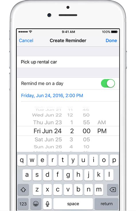 reminder app for iphone use reminders on your iphone or ipod touch apple