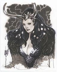 Adam Hughes Female Loki