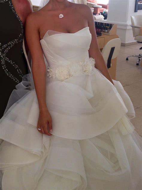 Vera Wang Katherine Wedding Dress Tradesy Weddings
