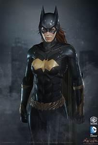 Batman Arkham Knight Batgirl Jacket | Golden Bat Logo ...