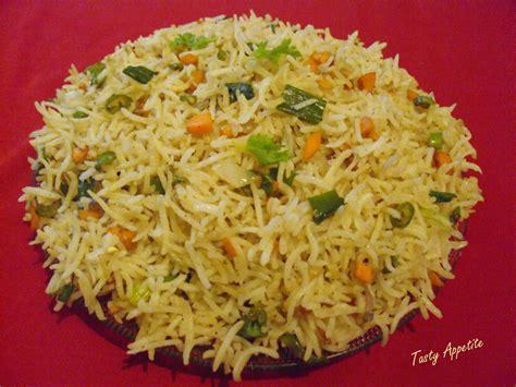 rice cuisine veg fried rice tasty appetite