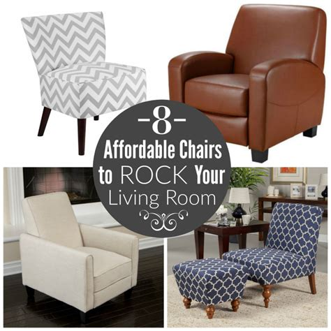 8 affordable chairs to rock your living room finding zest
