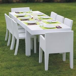 Table Jardin Design : table de jardin design 12 personnes jut par vondom ~ Melissatoandfro.com Idées de Décoration