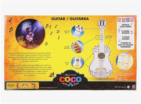 disney pixar coco miguel interactive guitar   box