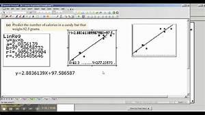 5  Ti-84  83 Making Predictions Using Linear Regression Equation
