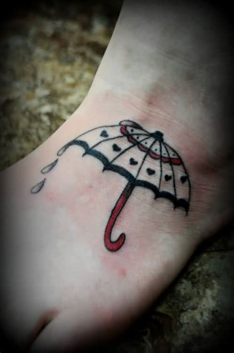 wonderful umbrella tattoos
