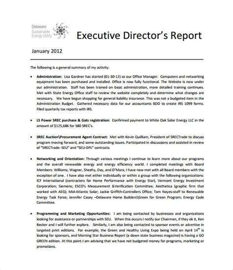 executive report template 15 free sle exle format pdf word apple pages