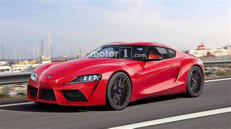2019 Toyota Supra Confirmed To Offer A Four-Cylinder Option