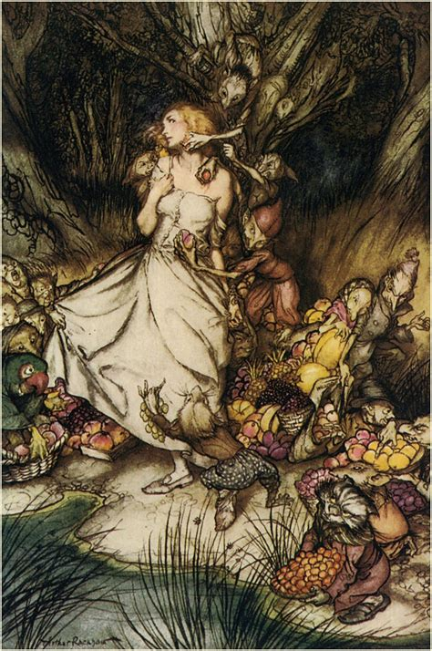 An Illustrators Inspiration Arthur Rackham