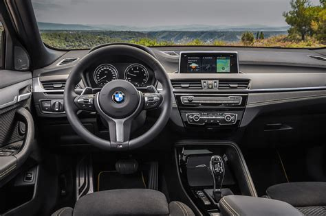 bmw dashboard 2018 bmw x2 first look review