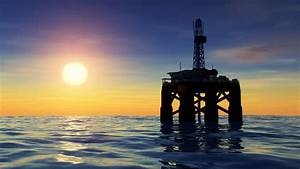 Offshore Oil Rig Drilling Platform Stock Footage Video ...