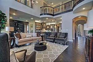 Toll Brothers Plano, TX Model - Contemporary - Family Room