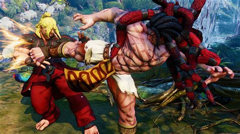 Brand New Street Fighter 5 Character Necalli Revealed