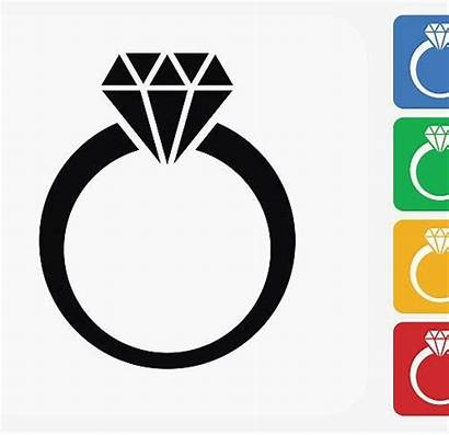 Ring Diamond Clipart Engagement Clip Elegant Getdrawings