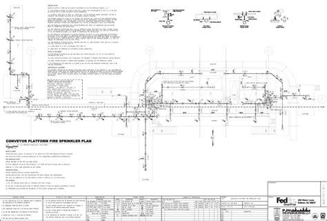 pjh fire sprinkler design llc sample drawings